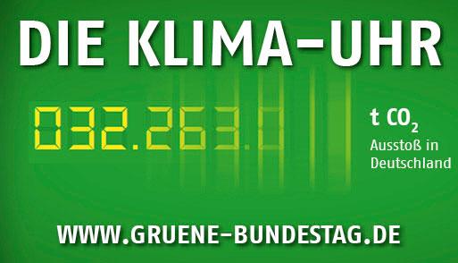 Die Grüne Klimauhr
