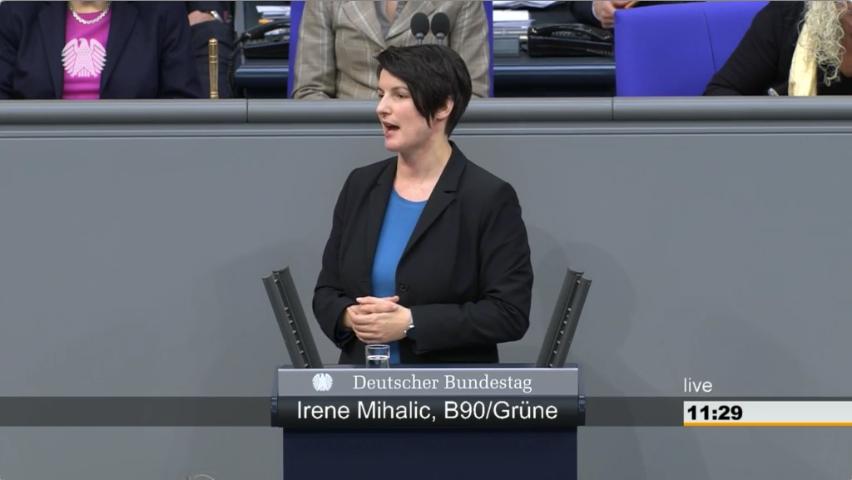 Irene Mihalic zum Waffenrecht