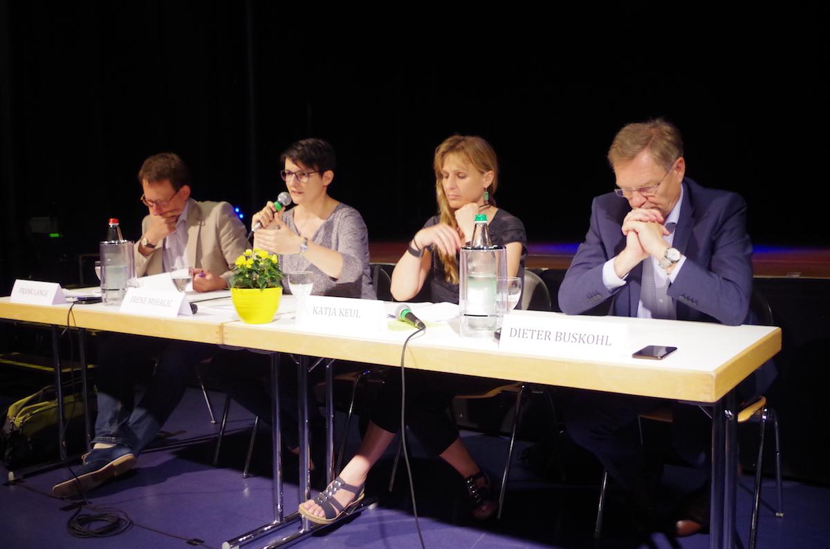 Veranstaltung mit Irene Mihalic, Katja Keul und anderen