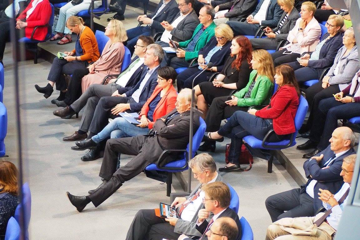 Letzte Sitzungswoche des 18. Deutschen Bundestages