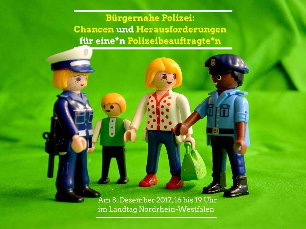 Bürgernahe Polizei: Veranstaltung im Landtag NRW