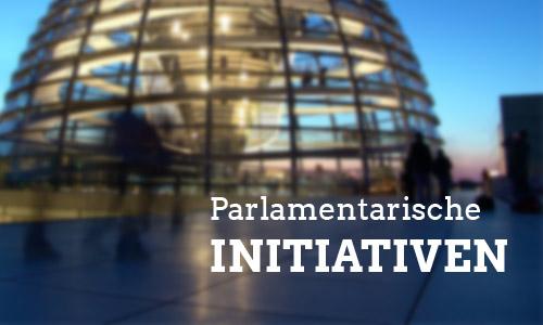 Parlamentarische Initiativen