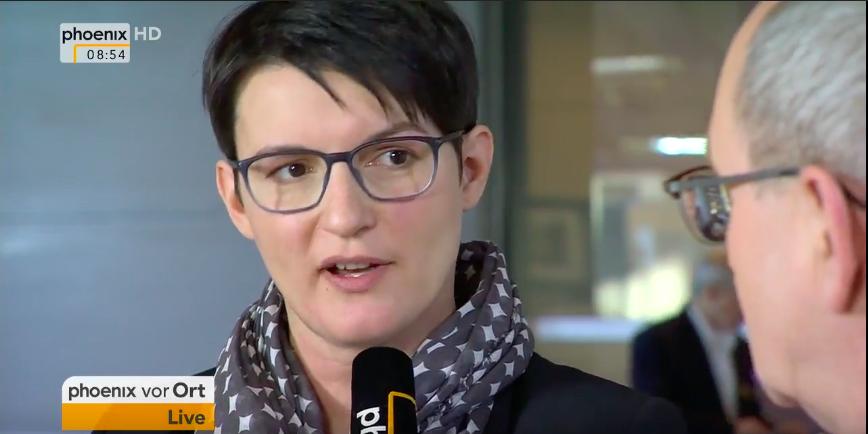 Irene Mihalic im Interview