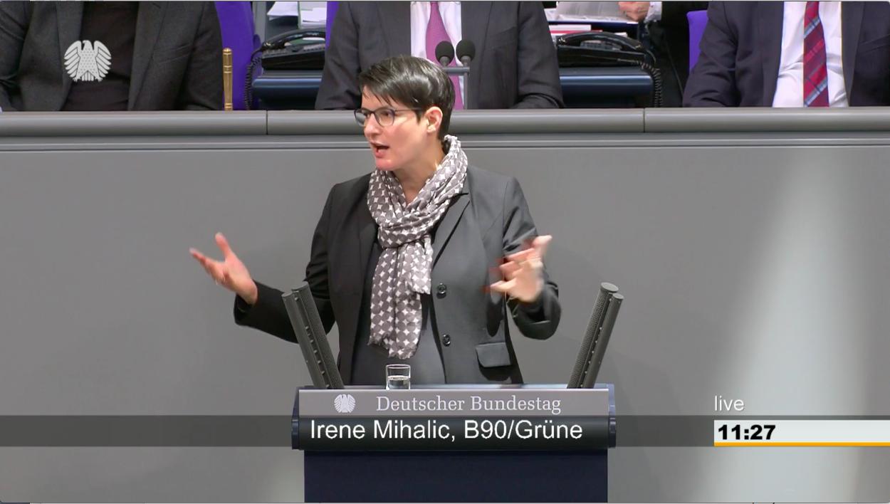 Rede im Bundestag