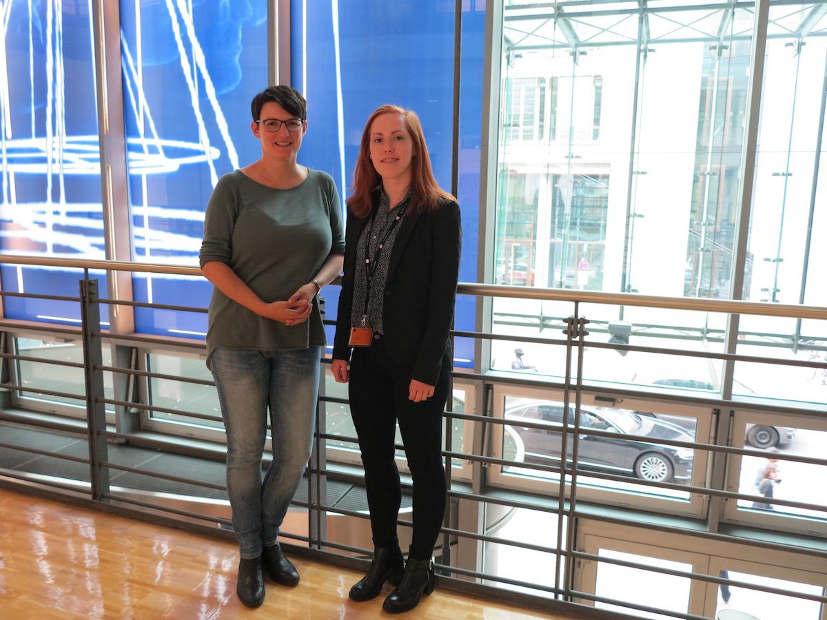 Irene Mihalic und Christin Gehrmann