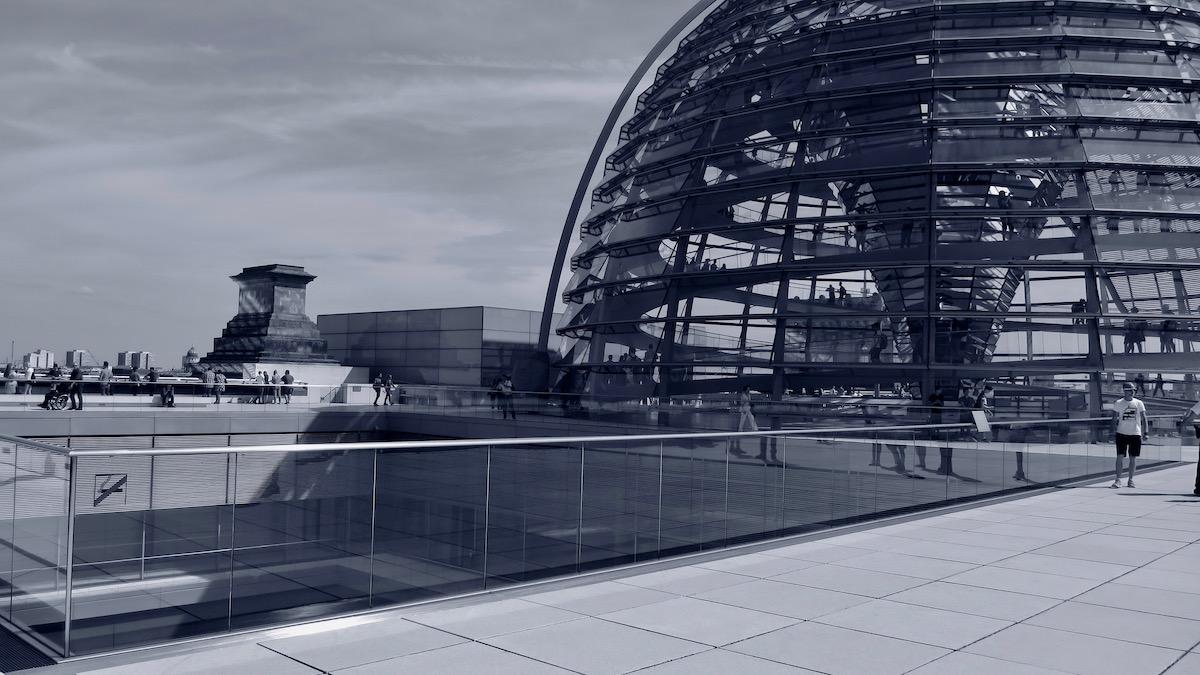 Auf dem Reichstag