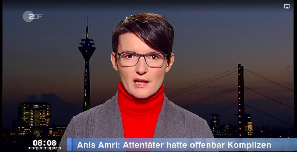 Irene Mihalic im ZDF Morgenmagazin