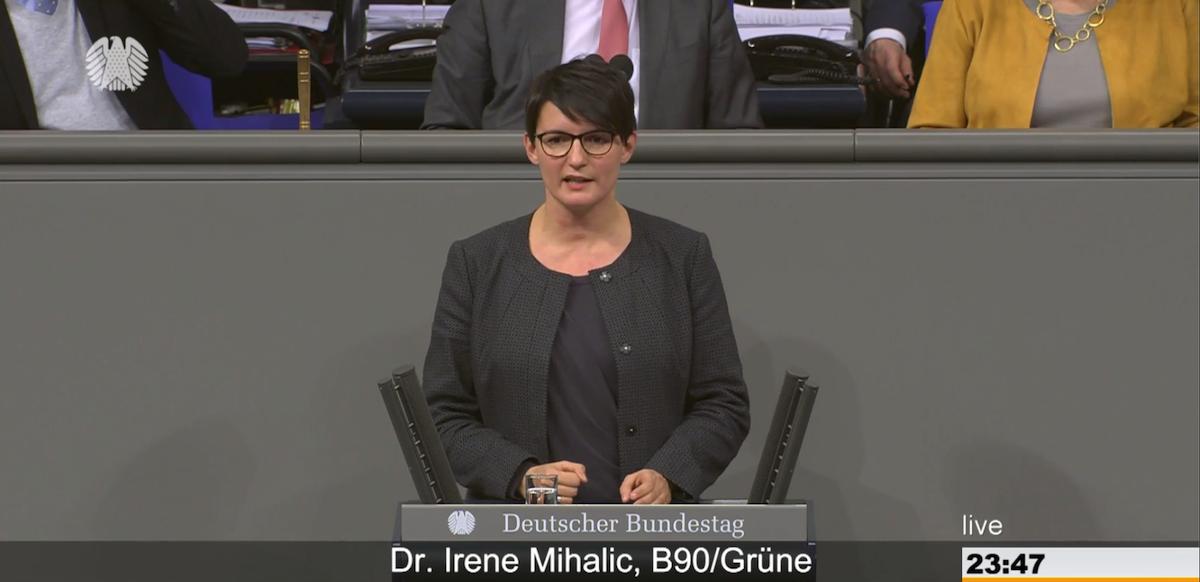 Irene Mihalic zum Ehrenamt in Bevölkerungsschutz und Katastrophenhilfe
