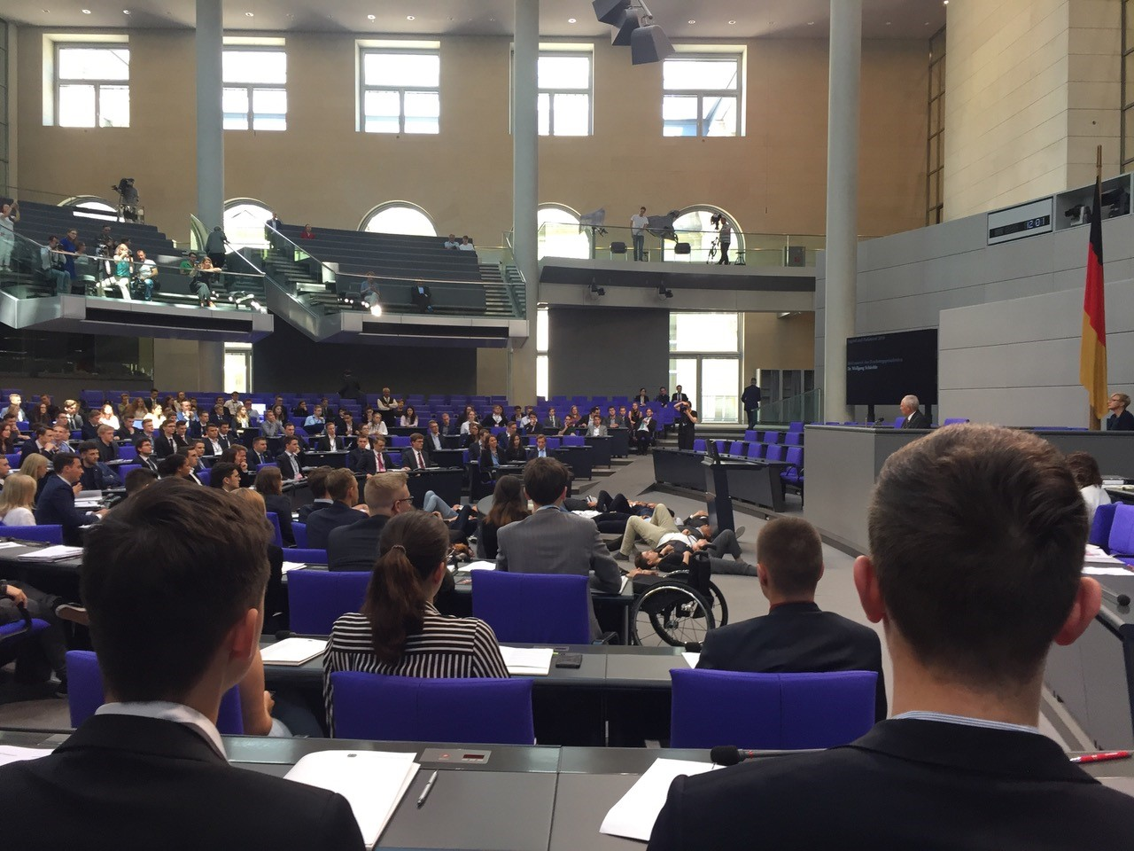 Jugend und Parlament 2019