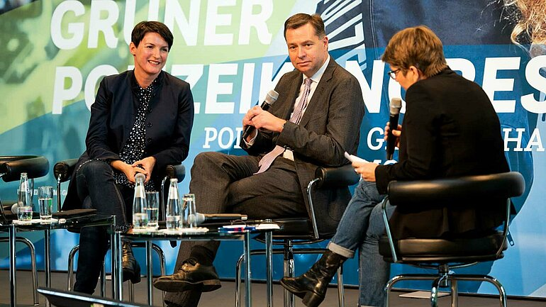 Irene Mihalic, Stephan Meyer, Sabine am Orde (vlnr) – Foto: BÜNDNIS 90/DIE GRÜNEN Bundestagsfraktion